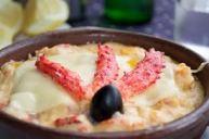 chupe de centolla, gastronomia chilena, cocina chilena