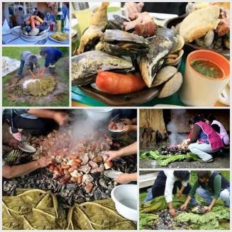 Curanto Chilote, Gastronomia de Chiloe, Cocina de Chiloe, Gastronomia Chilena, cocina chilena, cuisine chilienne, gastronomie Chilienne, Chiloé
