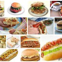 Sandwichs chilenos