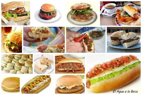 mosaico sandwichs de Chile