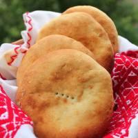 Pan de papas / Pains de pommes de terre