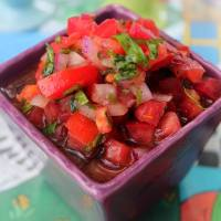Pebre con tomate y aji / Pebre à la tomate et au piment