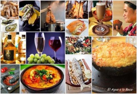 Recorrido gastronomico de Chile, gastronomia de Chile, Cocina chilena