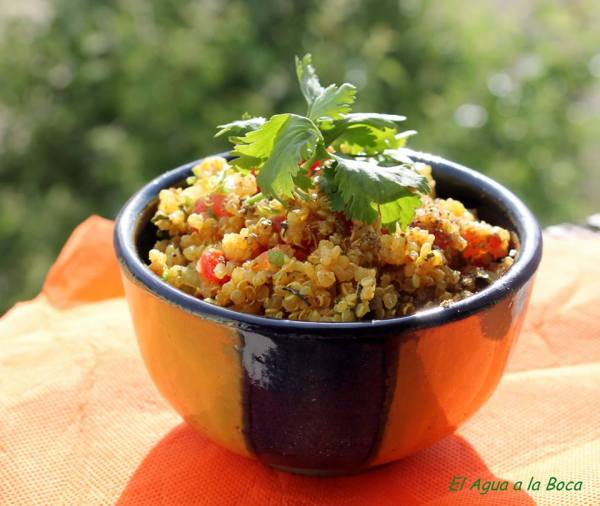 Tabule de quinoa con Zaatar blog