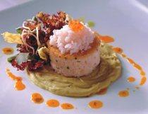 tartaro de krill antartico, gastronomia chilena, cocina chilena, cuisine chilienne, gastronomie chilienne