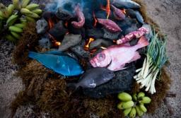 Tunuahi, Cocina Rapa Nui