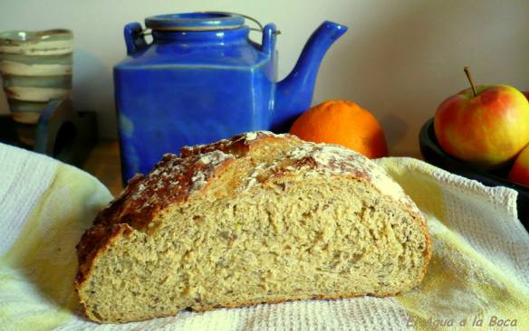 Pan de centeno con semillas 2 blog