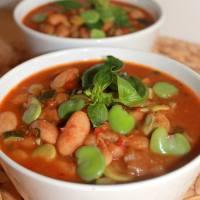Sopa de verduras surtidas / Soupe de légumes variés