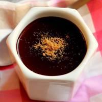 Cremas de chocolates al agar agar / Petits pots de crèmes chocolat à l'agar agar